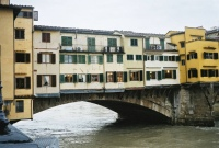 Ponte Vecchio from up the Arno