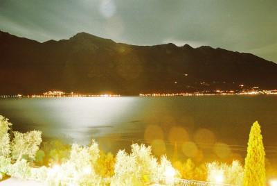 Monte Baldo lit my moonlight