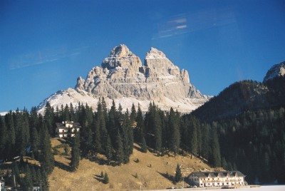 The towers of Tre Cimes