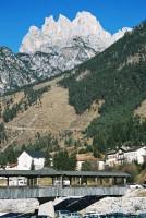 Above the Alpine Bridge at Auronzo
