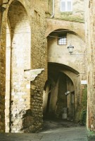Arched ways in the City Walls