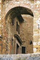 One of the many arches within Montepulciano