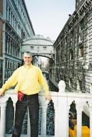 Simons birthday in Venice, December 11 2000