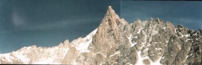 Dent du Geant above Mer de Glace