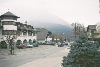 The Main Street in Dobbiaco