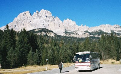 A lovely day to drive the Dolomites