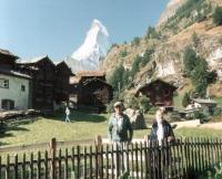 Le Cervin <<Matterhorn>>  with M. et Mme Gonthier