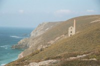 Wheal Coates coastine, Chapel Porth