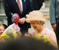 The Queen Smiles