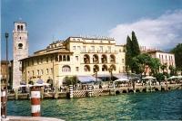 the town of Riva del Garda on north shore of Lake Garda